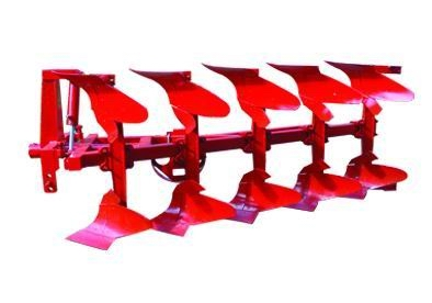 是拖拉机配套使用的,由双联分配器控制犁的升降和犁的翻转.